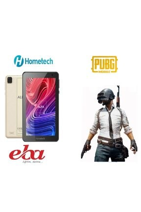 "Hometech Alfa 7 Mrc 2 Gb 32 Gb 7"" Inç Tablet Gold Renk (eba+zoom)"