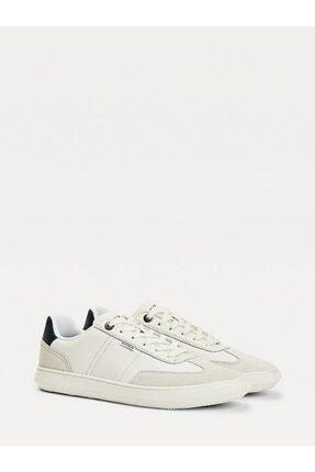 Tommy Hilfiger Seasonal Deri Mıx Cupsole Sneaker