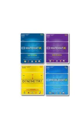 Tonguç Akademi Tyt Matematik Ilk 12 Konu Denemetre Problematik 4'lü Set