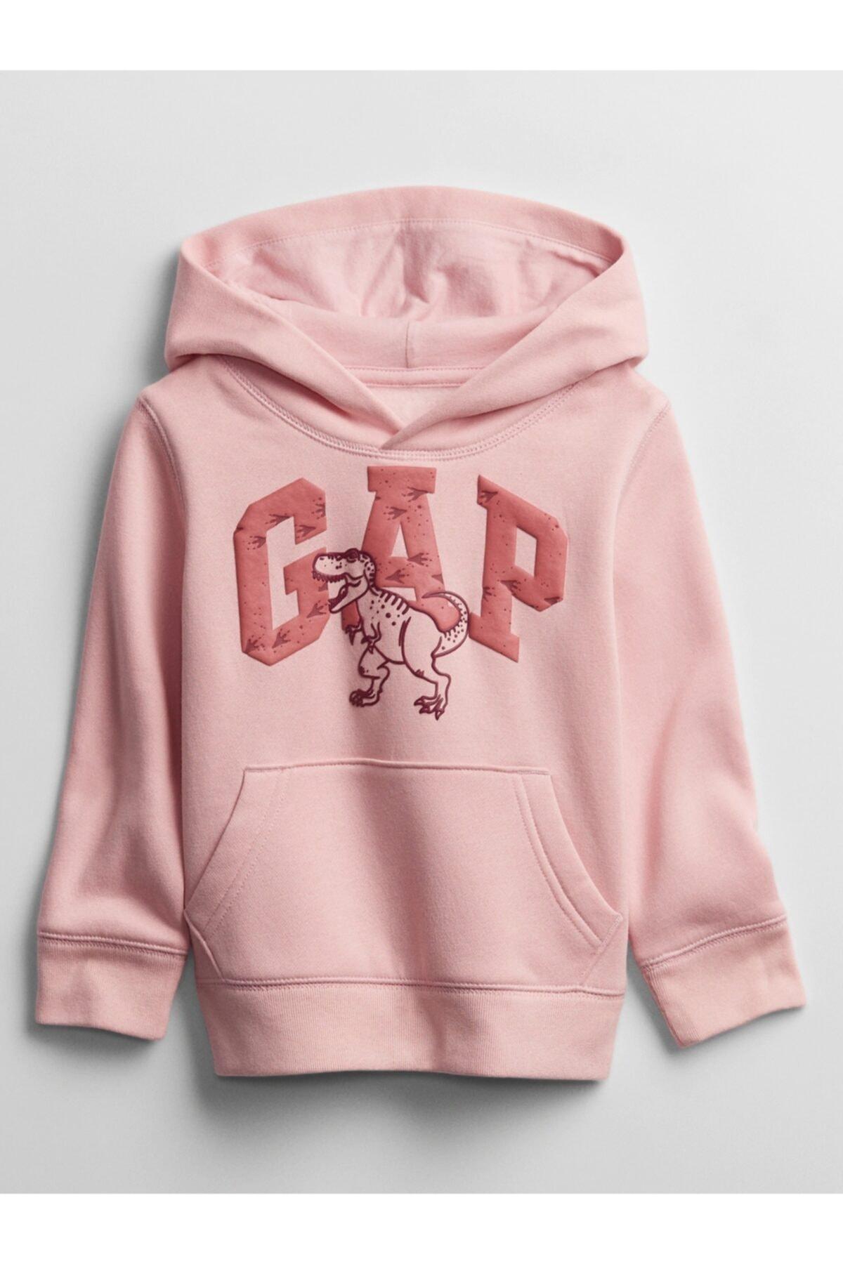 GAP Erkek Bebek Logo Kapüşonlu Sweatshirt 1