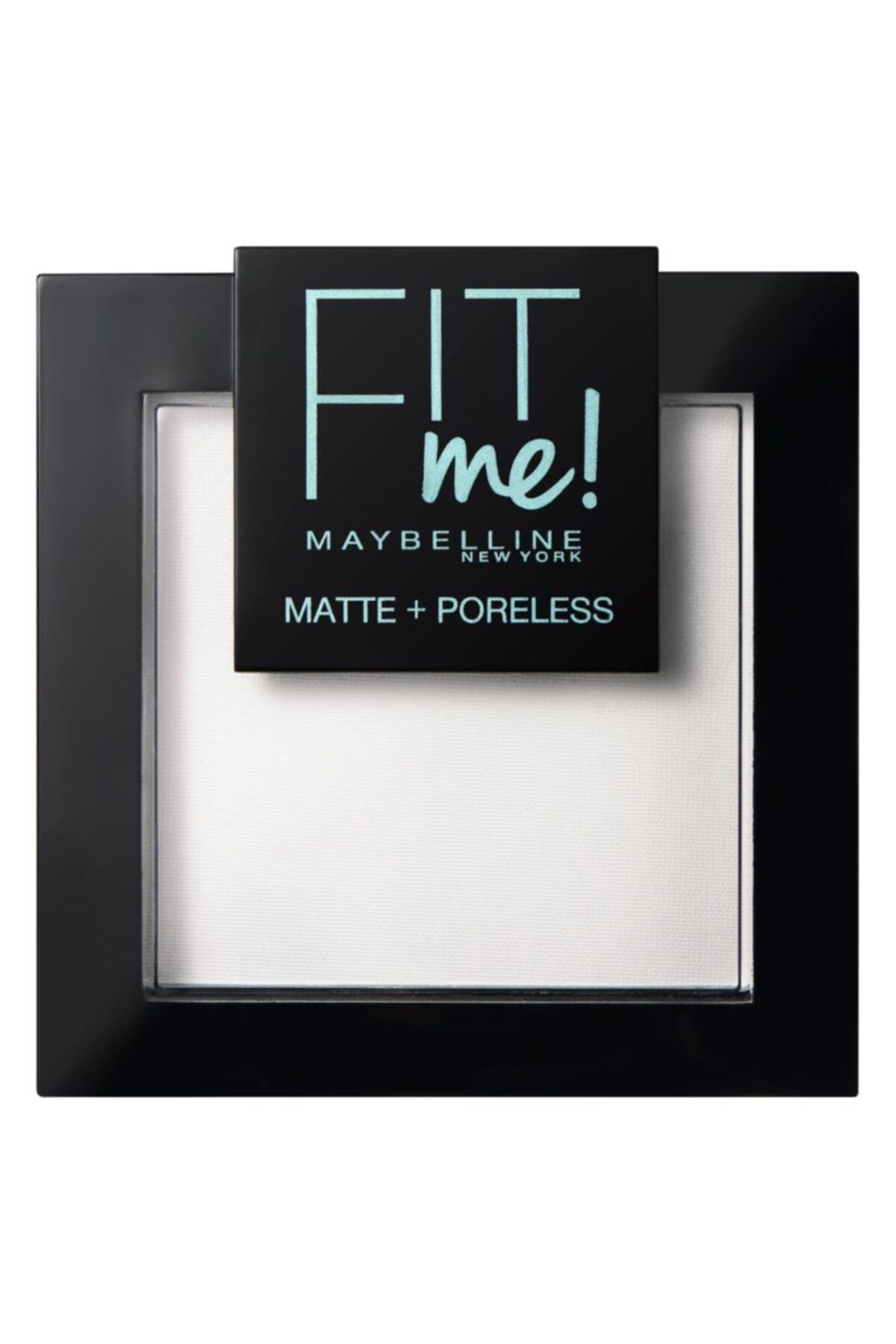 Maybelline New York Fit Me Matte+poreless Pudra - 90 Translucent (Transparan) 1