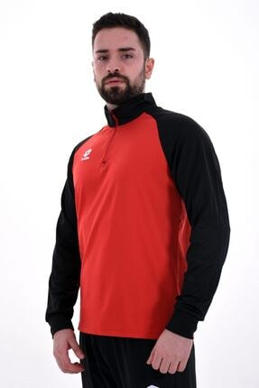 Lotto Erkek Kırmızı Siyah Eşofman R8976