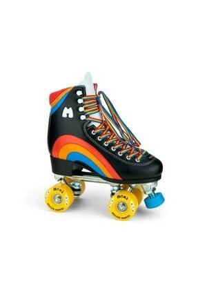 Moxi Skates Rainbow Rider Black Quad Paten