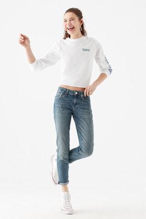 Mavi Kadın Ada Gölgeli  Vintage Jean Pantolon 1020533423