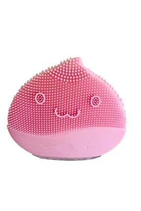 FOREVER LINA Pembe Mini Şarjlı Yüz Temizleme ve Masaj Cihazı