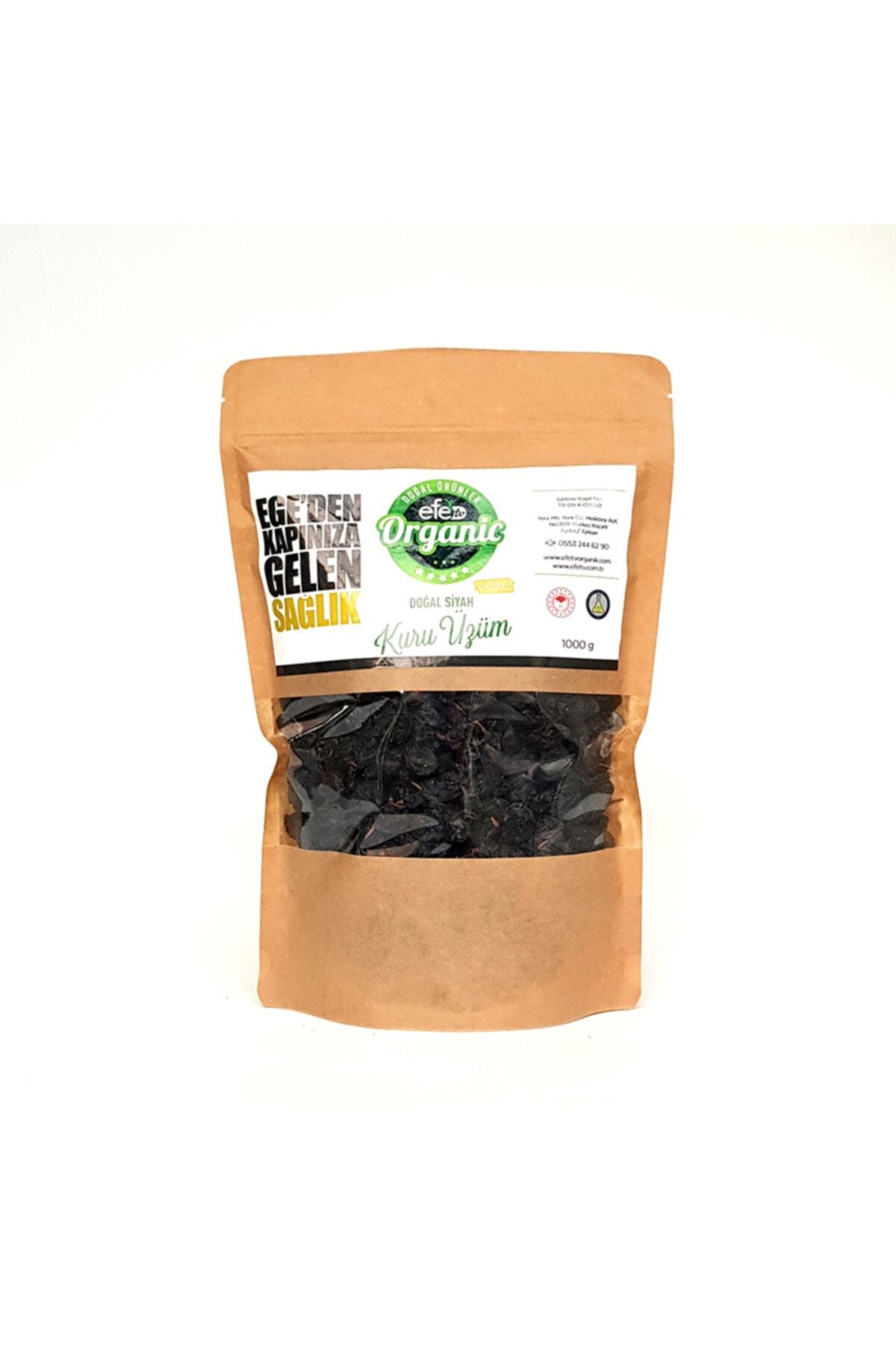Efe Organik Organik Bağ Siyah Çekirdekli Kuru Üzüm 1000 gr 1