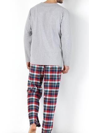 Doremi Erkek Gri Strong Lines Pijama Takımı