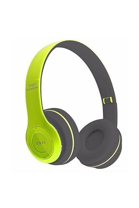 P47 Wireless Bluetooth Kulaklık (yeşil)