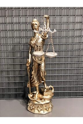 VOTRE DECOR Dekoratif Büyük Adalet Terazisi Biblo