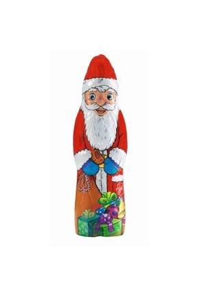 Friedel Noel Baba Sütlü Çikolata 150 gr 25 Cm Alman Çikolatası Üç Boyutlu Santa Claus Yaldızlı Çikolata