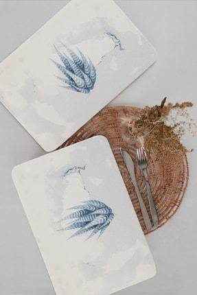 Keramika Blue Magic Siera 2 Adet Kayık Tabak