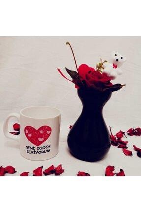 Sitare Hediyelik Gül Vazosu Ve Aşk Kupası