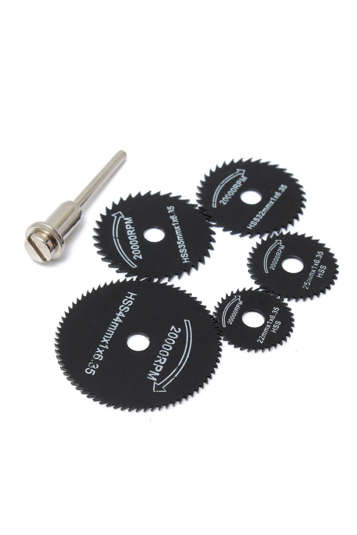 KUSTAR 6'li Siyah Gravür Ahşap Metal Plastik Kesme Mini Testere Seti 2