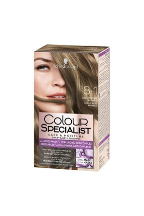 Color Specialist Colour Specialist Saç Boyası 8-1 Küllü Açık Kumral