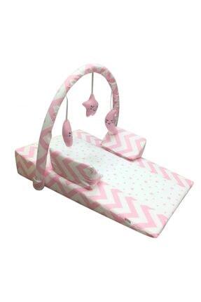 Pierre Cardin Oyuncaklı Bebek Reflü Yatağı - Pembe