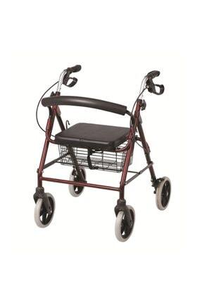 POYLİN Tekerlekli Yürüme Desteği Yürüteç Rollatör Yaşlı Yürümeye Destek Araç Aparat Sungur Medikal