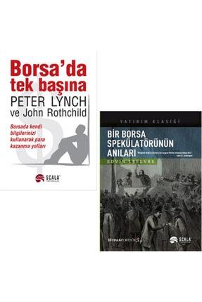 Scala Yayıncılık Borsa'da Tek Başına - Bir Borsa Spekülatörünün Anıları / 2 Kitap Takım
