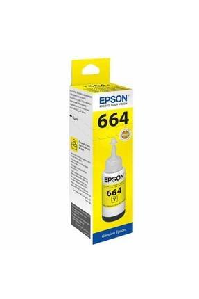 EPSON T6644 L100/ L200/ L300 (c13t66444a) Sarı Mürekkep 70ml