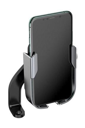 Baseus Armor Motorcycle Holder-motosiklet-bisiklet Telefon Tutucu Siyah,gri