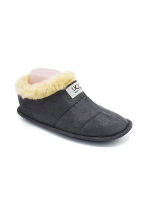 Nmoda Unisex Kahverengi Panduf Ev Içi Ayakkabısı