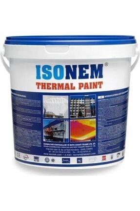 Isonem Thermal Paint Iç Ve Dış Cephe Isı Ve Yalıtım Boyası Beyaz 18 Lt