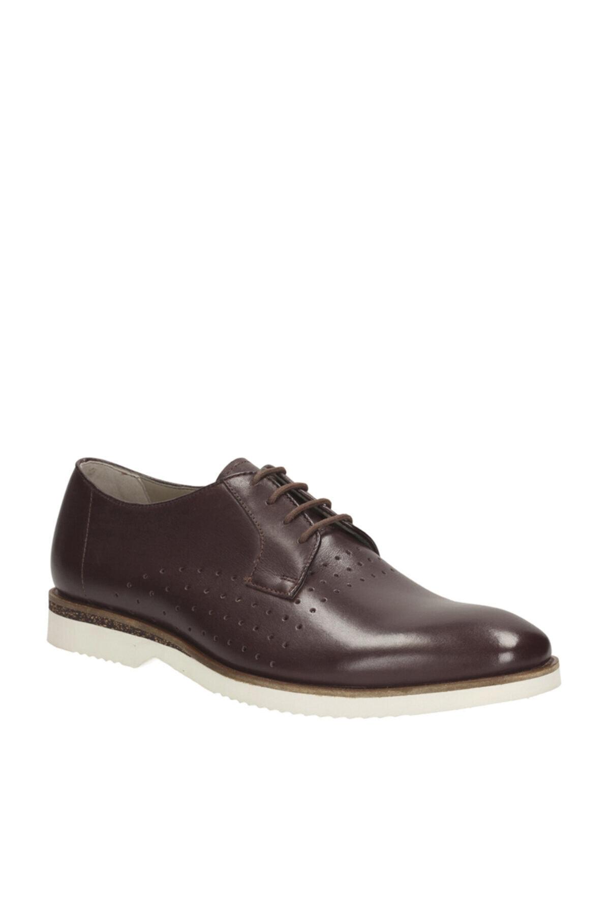 CLARKS Hakiki Deri Kahverengi Erkek Ayakkabı 261142697 1