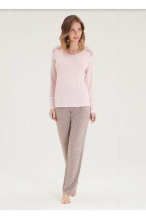 Blackspade Kadın Pijama Takımı 50337-pembe