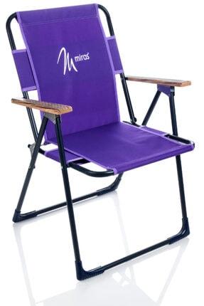 Miras Pro Katlanır Sandalye Mor