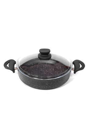 Essenso 26 Cm Granit Karnıyarık-pilav Tencere [siyah]
