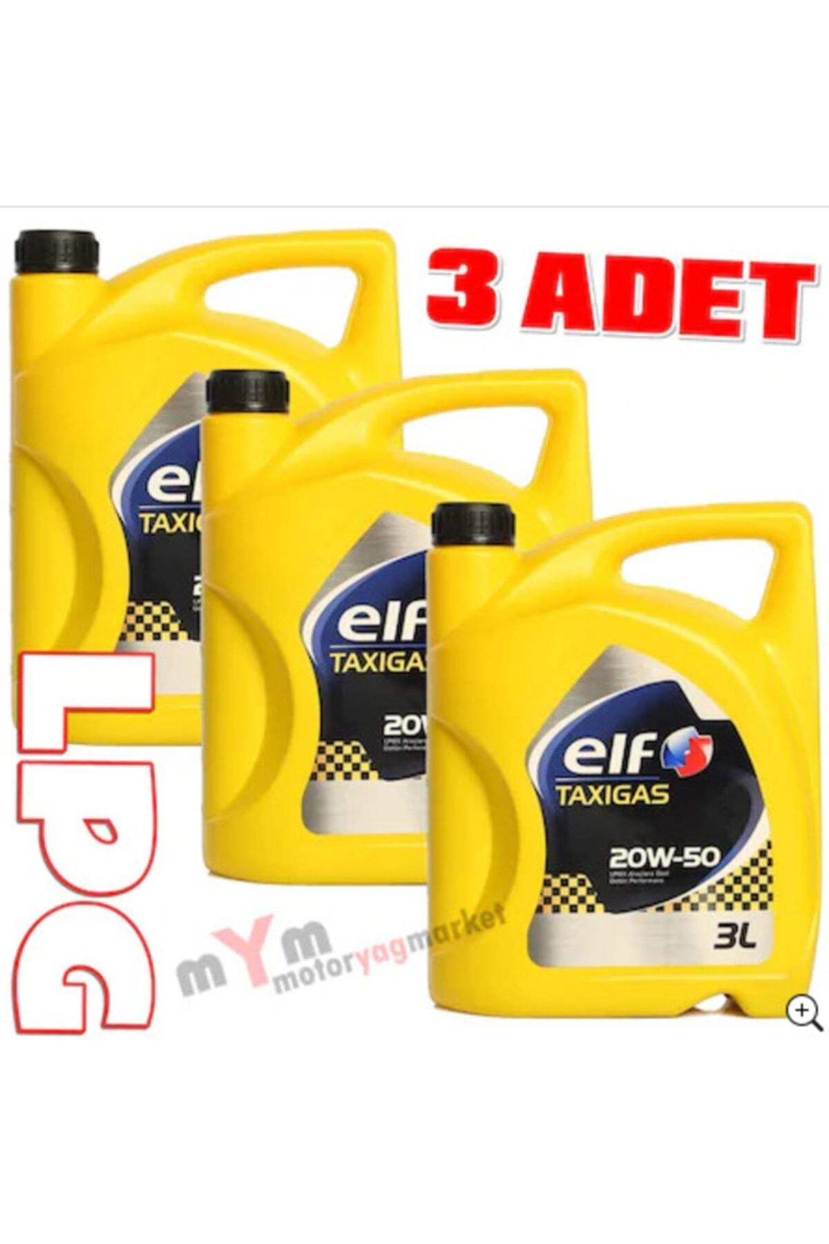 ELF Taxigas Lpg 20w-50 3 Litre Lpgli Araç Motor Yağı *3 Adet 1