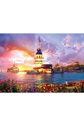 Art Puzzle Kız Kulesi, 1000 Parça Puzzle 5179