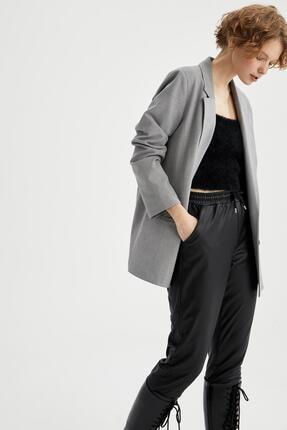 DeFacto Fleto Cepli Oversize Blazer Ceket