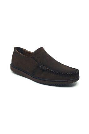 Taşpınar Erkek Kahverengi Ortopedik Ayakkabı