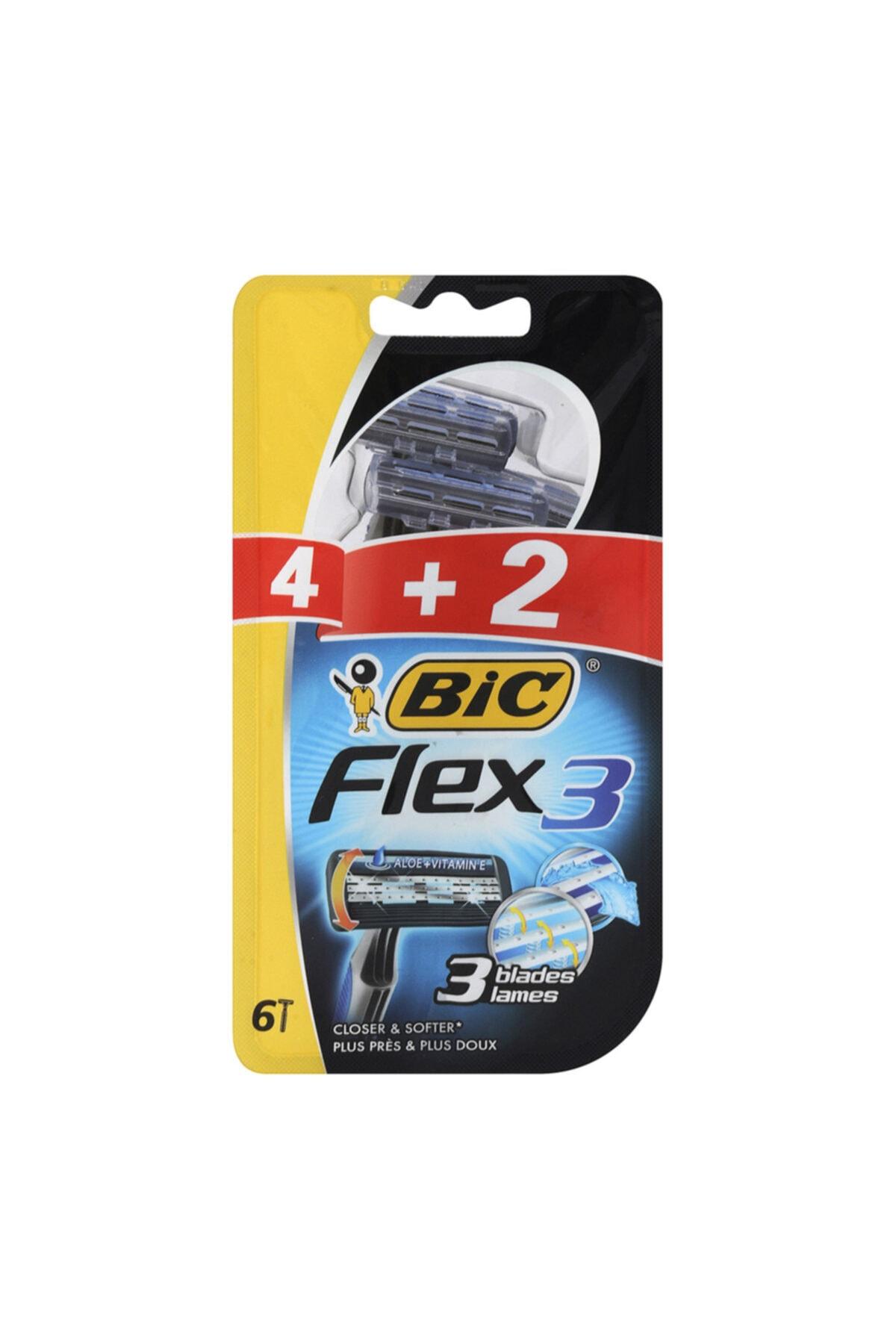 Bic Flex 3 Tıraş Bıçağı 4+2 1
