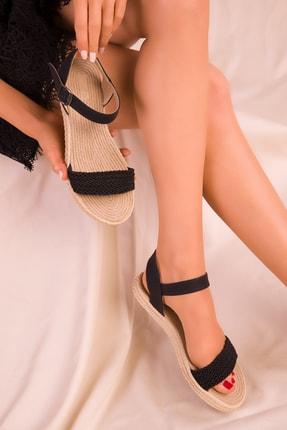 SOHO Siyah Kadın Sandalet 15877
