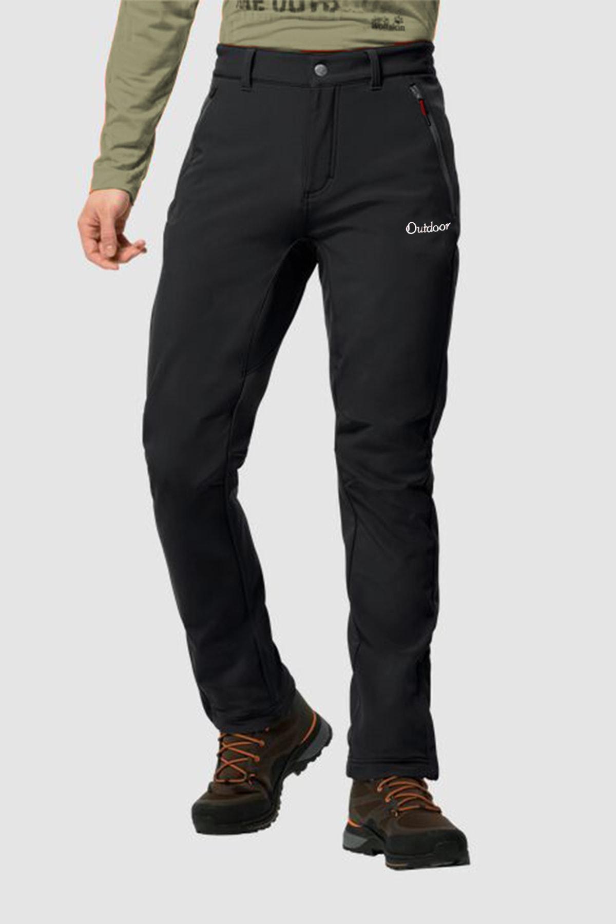MACSYLEN Su Ve Rüzgar Geçirmez Içi Kürklü Outdoor Pantolon 1