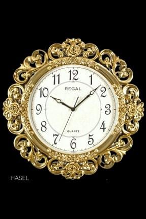 Regal Saat Dekoratif Oymalı Sessiz Duvar Saati 50 X 50