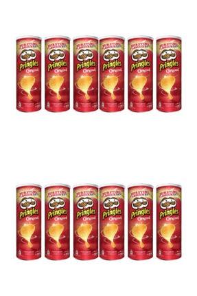 Pringles Cips Original 165 G 12 Adet