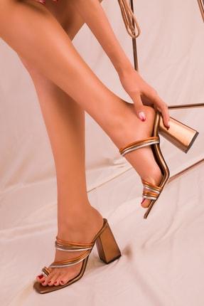 SOHO Bakır Kadın Klasik Topuklu Ayakkabı 15832