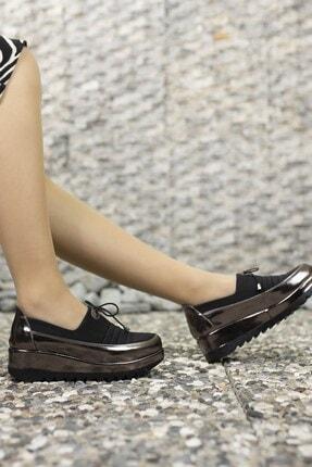 Riccon Kadın Platin Casual Ayakkabı 001230