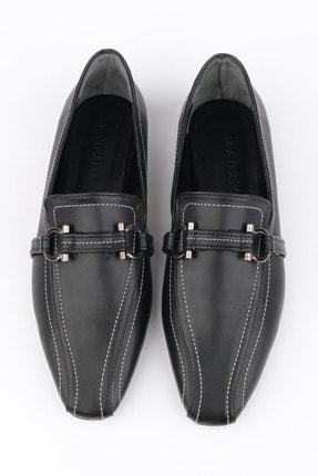 Marjin Kadın Siyah Loafer Ayakkabı Lonal