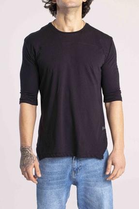 Catch Erkek Siyah Yarım Kol Basic T-shirt Y-523