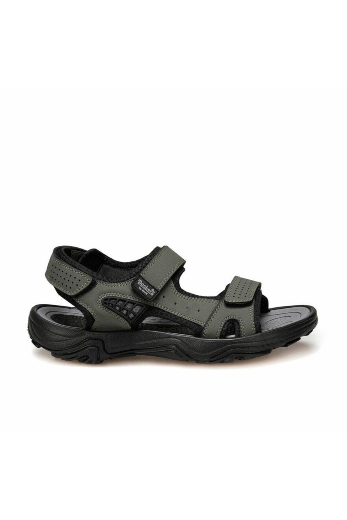 Dockers Erkek Haki Confort Casual Spor Sandalet 228653 1