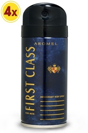 First Class Aromel 150ml *4 Erkek Deodorant