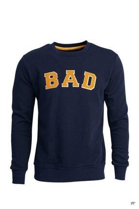 Bad Bear Erkek Mavi Sweatshirt
