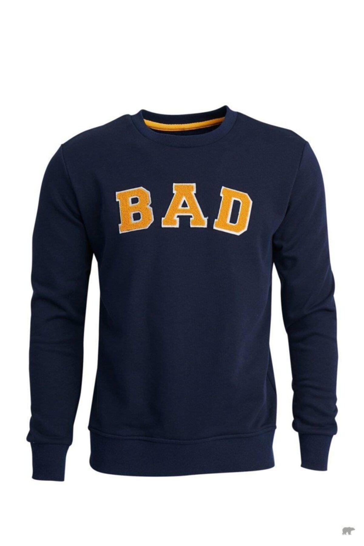 Bad Bear Erkek Mavi Sweatshirt 1