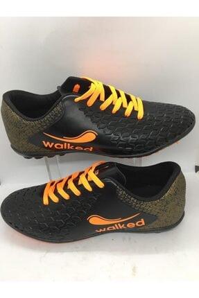 Walked Siyah Halı Saha Genç Spor Ayakkabı