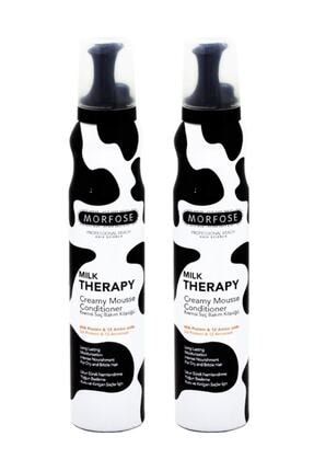 Morfose Milk Theraphy Saç Köpüğü 200 ml X 2 Adet