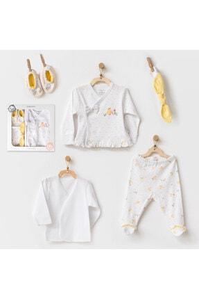 andywawa Bebek Hastane Çıkışı 5 Pcs Newborn Set Happy Chıcky