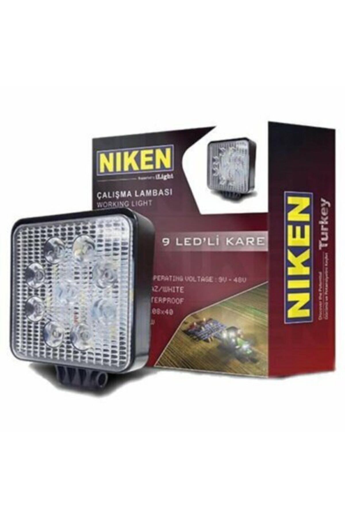 Niken Nıken 9led Çok Amaçlı 9v-48v Off-road Gündüz Lambası,çalışma Lambası,geri Vites Lambası 1
